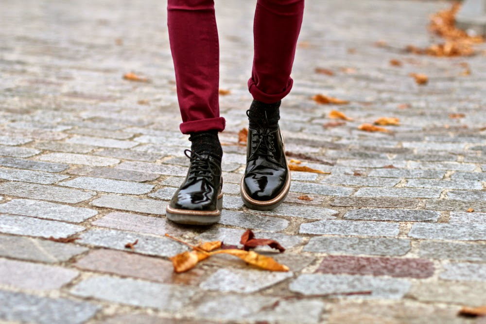 Clarl patent brogues Chaussures derby vernie  blog mode homme mensfashion