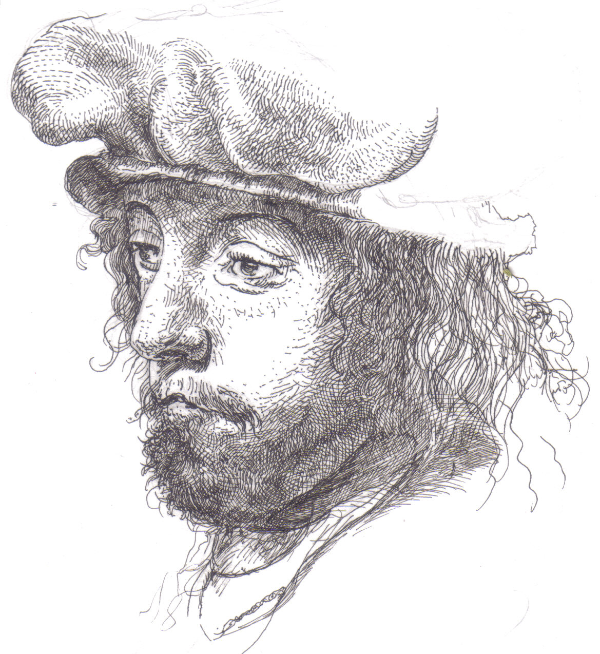 mister beaudrys drawings homage to d252rer and rembrandt