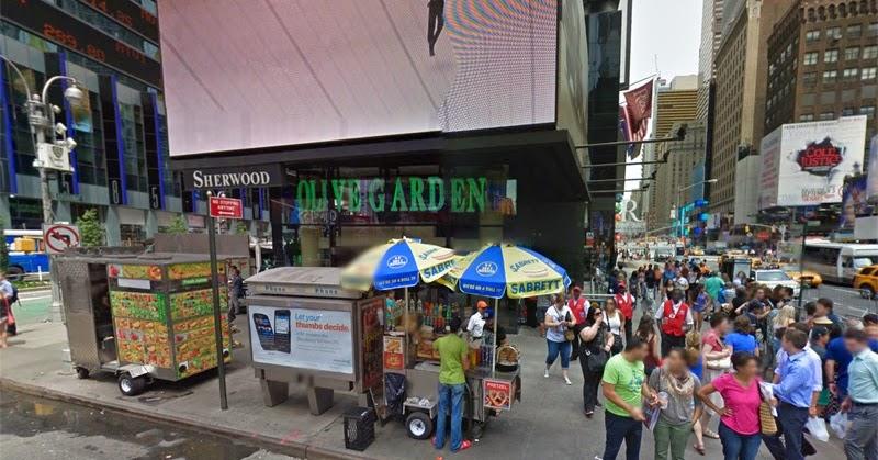 E A F Rias Nova Iorque Olive Garden Times Square Avalia O