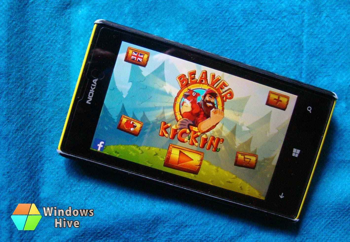 beaver kickin, windows phone, game