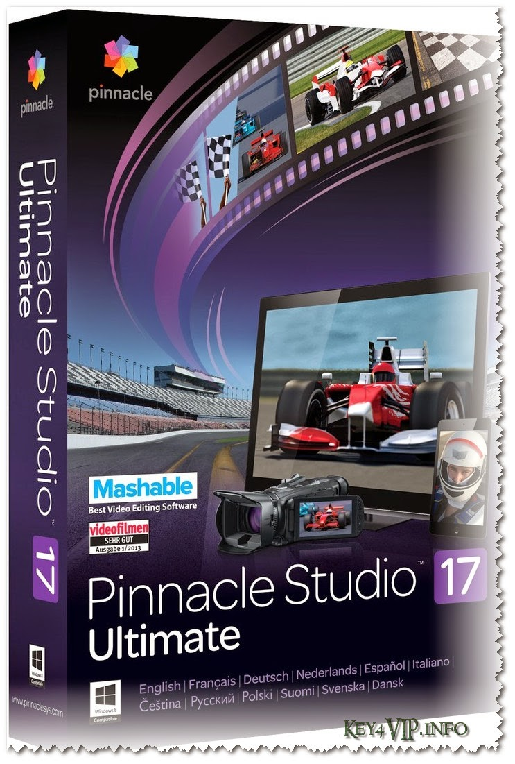 Pinnacle Studio Ultimate 17.5.0.327 Multilingual Full + DVD tiếng Việt học Pinnacle Studio Ultimate