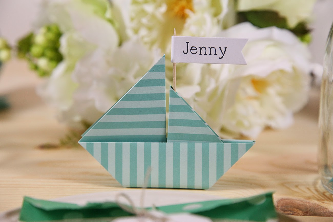 Nautical Party Using Lawn Fawn Stamps