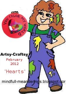artsy craftsy Feb 2012