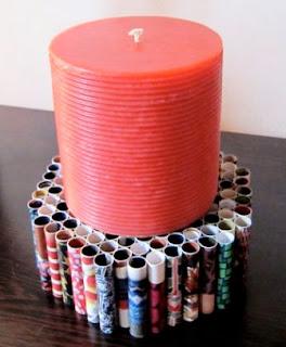 Cara Bikin Dudukan Lilin / Barang Lainnya dari Kertas