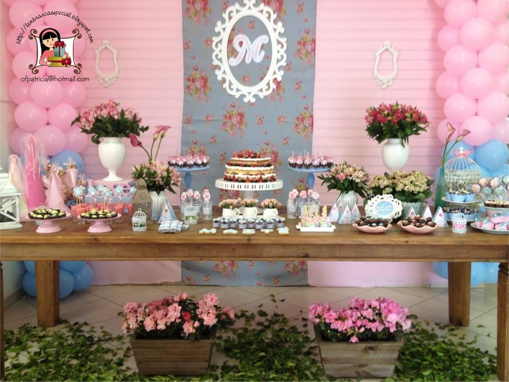 festa jardim vintage:Lembrança Especial: Aniversário Jardim Vintage