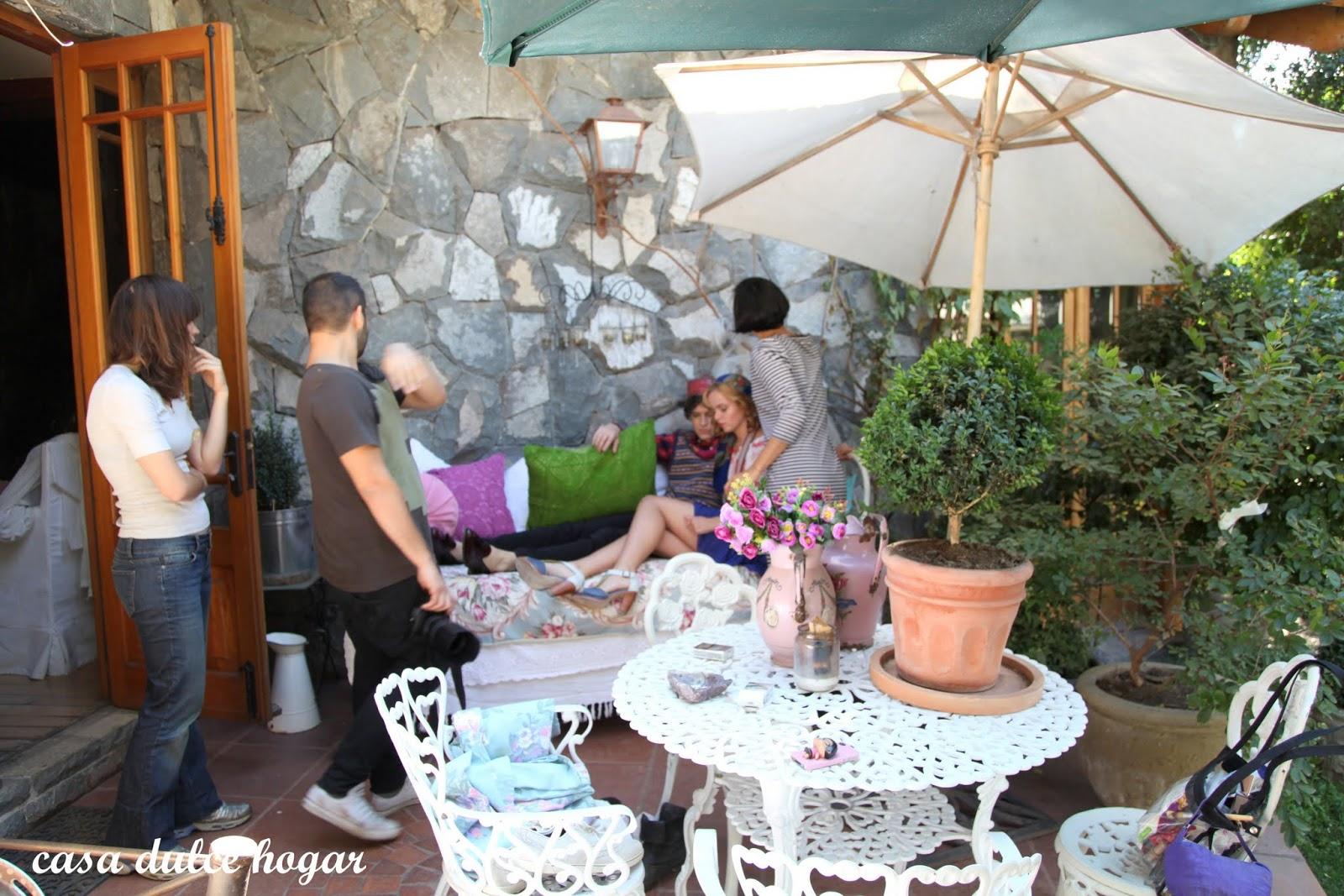 Casa dulce hogar producci n de fotos para moda en mi casa for Casa y jardin bazaar 2013