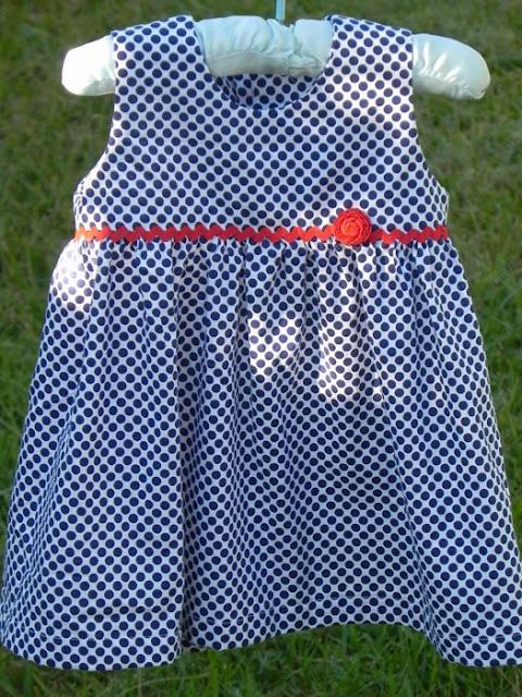 Baby dress free pdf pattern