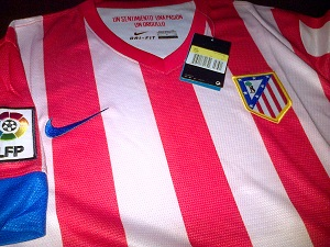 Jersey Atletico Madrid Home 2013