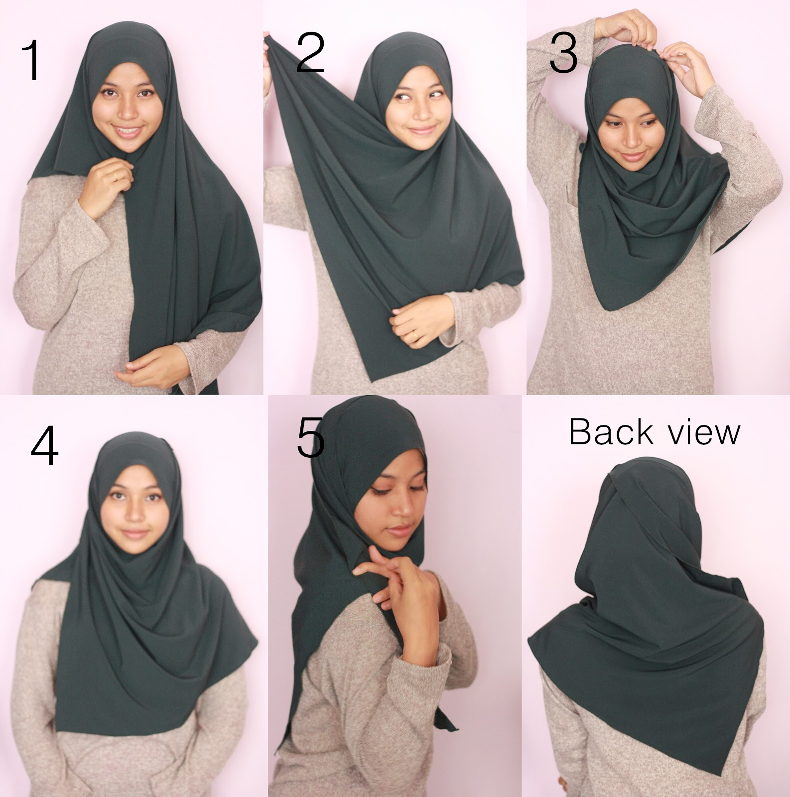 Mellovelly Hijab Tutorial How To Wear Aara