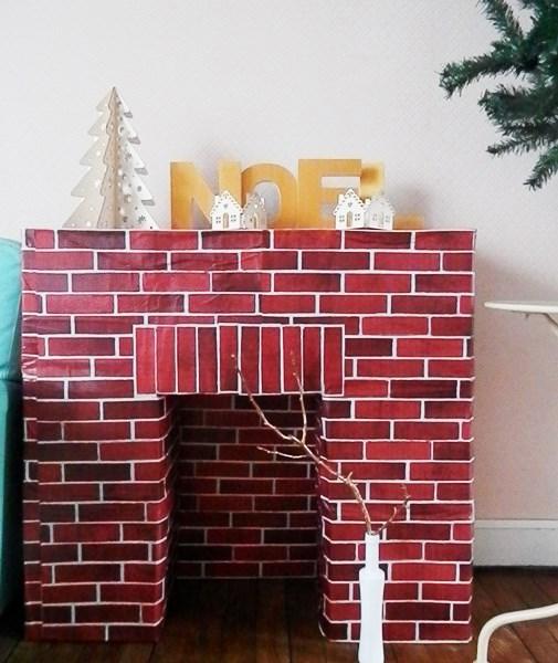 ma cheminée est en carton - caro dels - blog diy et loisirs créatifs