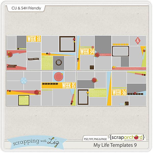 http://scraporchard.com/market/My-Life-9-Digital-Scrapbook-Templates.html