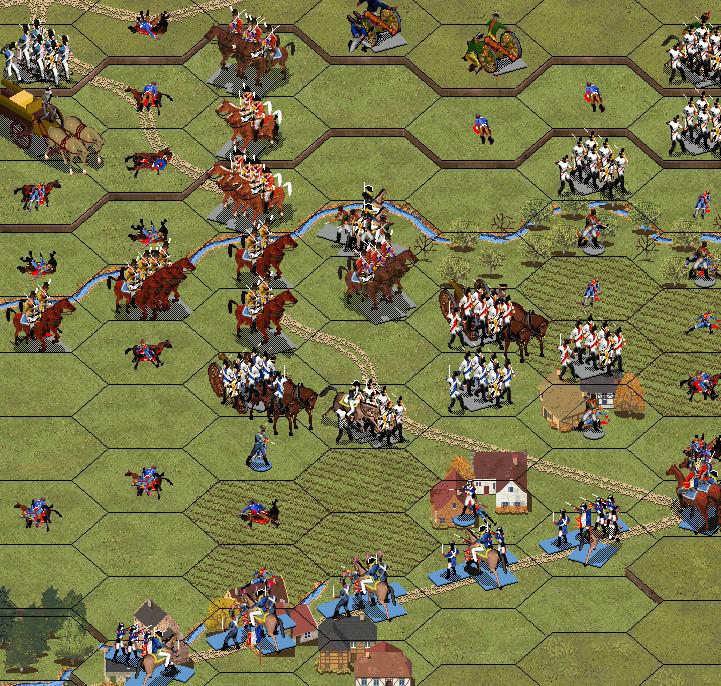 Атака прусской пехоты