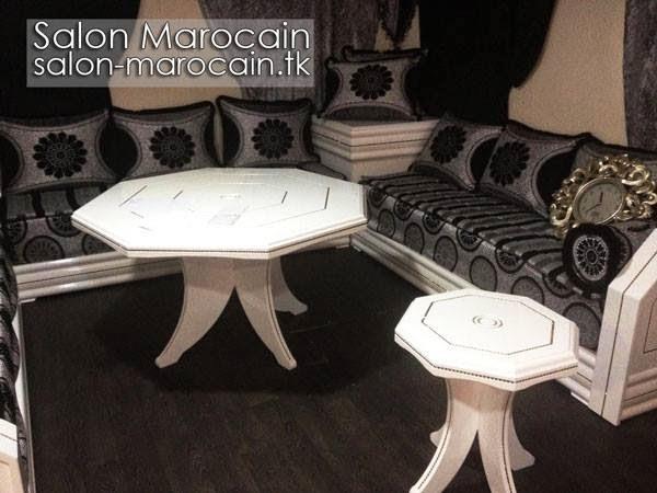 Salon marocain 2014 ornés décorés et bien finis