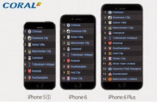 """iPhone 6 ra mắt, đội bóng MU bị """"đá đểu"""""""