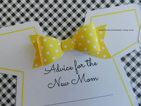 Baby Shower Game in Yellow, Purple, Blue and Pink