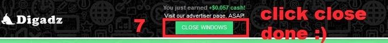 Cara klik iklan dan mendapatkan dollar dari digadz