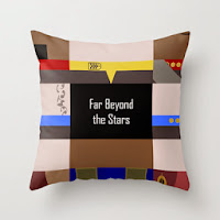 Star Trek Deep Space Nine Far Beyond the Stars Pillow