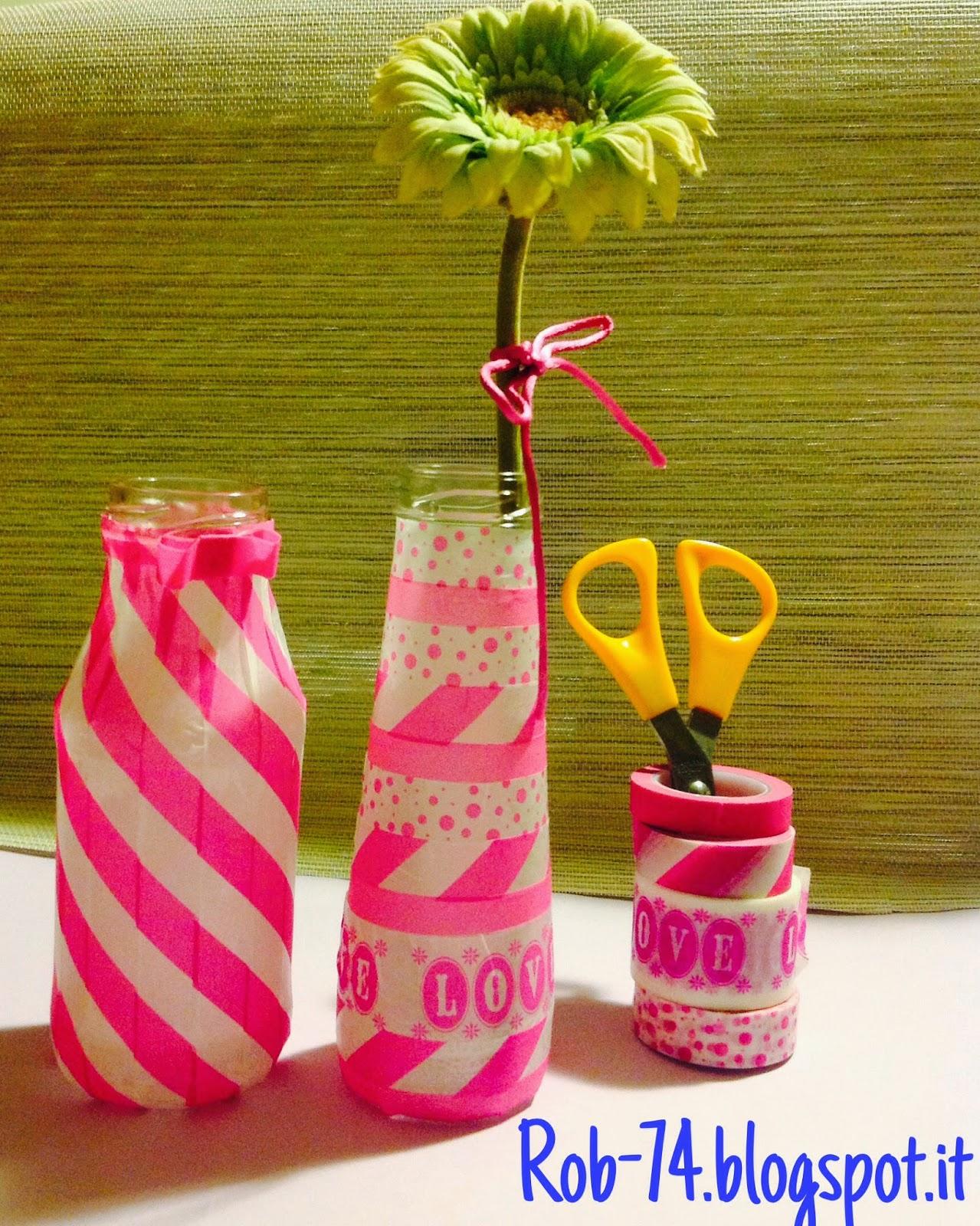 Vasi per fiori riciclo