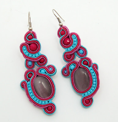 kolczyki sutasz soutache earrings 53