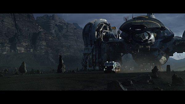 prometheus IMAX 3D movie