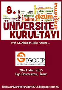 8. Üniversite Kurultayı Posteri