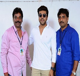 Fans Meets Ram Charan Photos