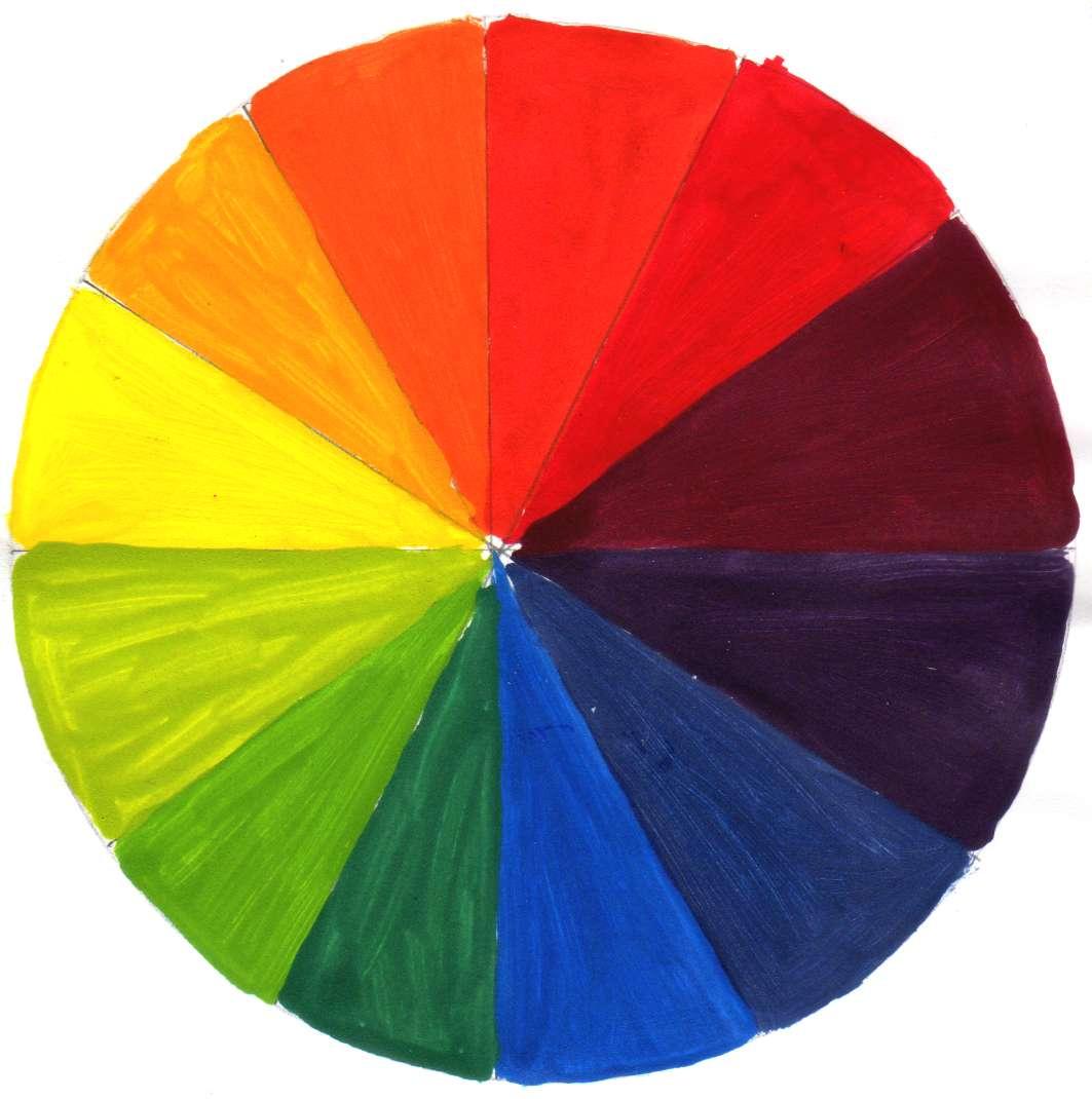 Los colores - Circulo cromatico 12 colores ...