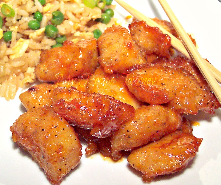 Sweet and Sour Chicken with Fried Rice