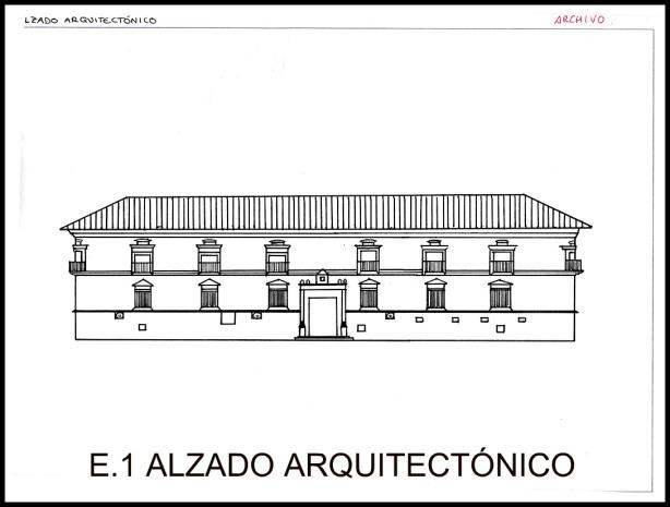 Blog d arquitectura planta alzado y secci n - Alzado arquitectura ...