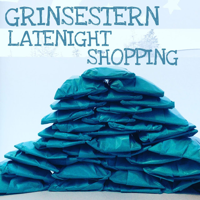 GrinseStern, Online, Stoff kaufen, Aktion, Late Night Shopping