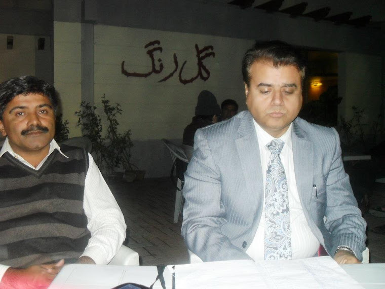 Akbar Lagheri and Zulfiqar Behan