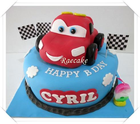 Cars Cake For Cyril Kue Ulang Tahun Birthday Cake