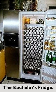 Funny bachelors around the world,funny fridge pics, humor pics about bachelor life