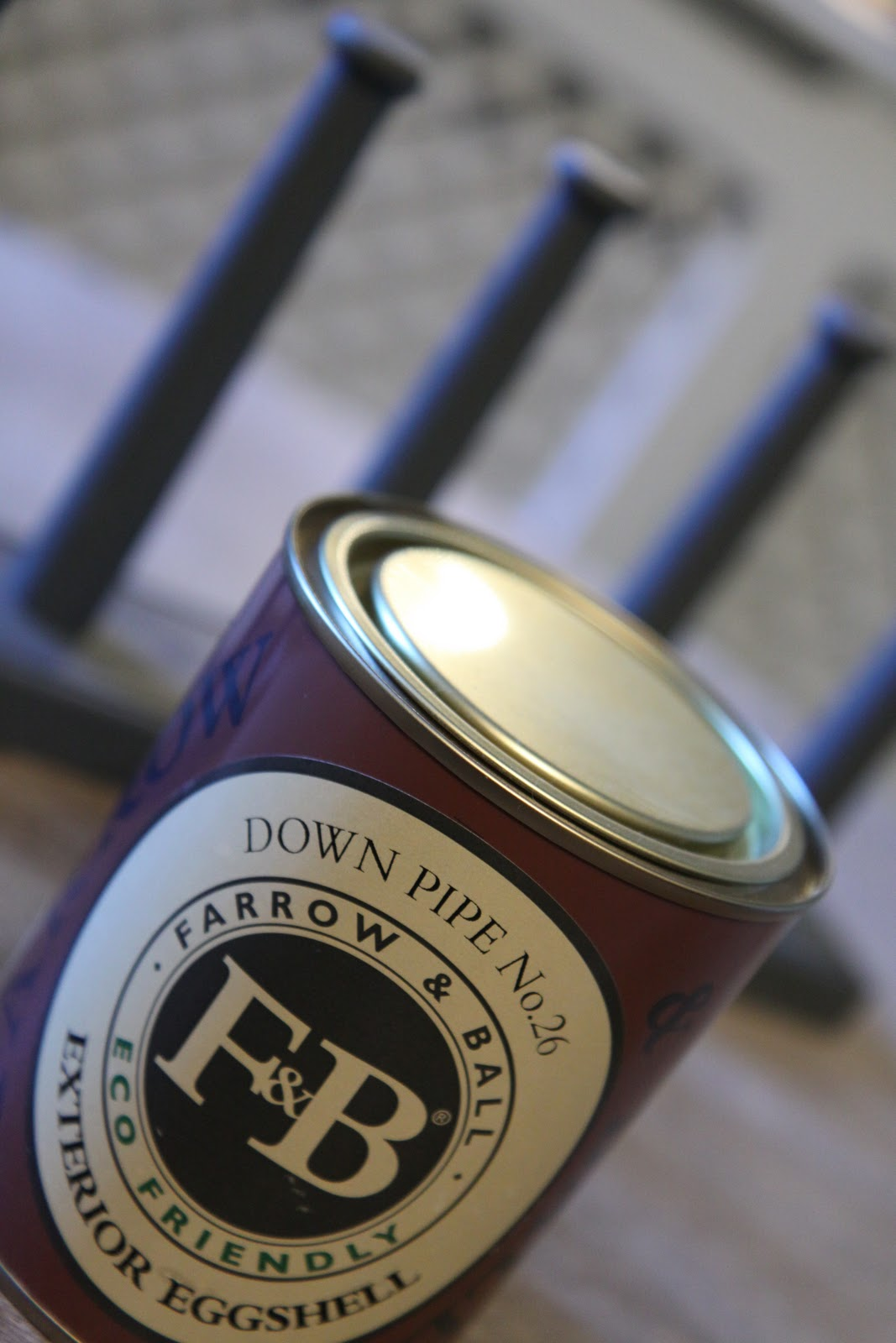Modern country style farrow and ball pale powder colour case study - Farrow And Ball Down Pipe