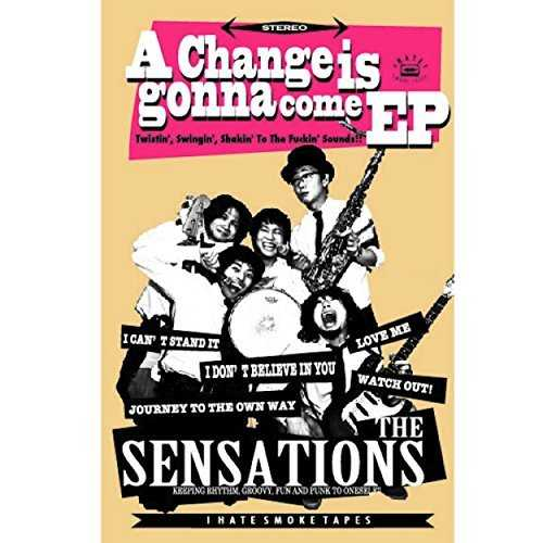 [Album] THE SENSATIONS – A Change Is Gonna Come EP (2015.07.01/MP3/RAR)