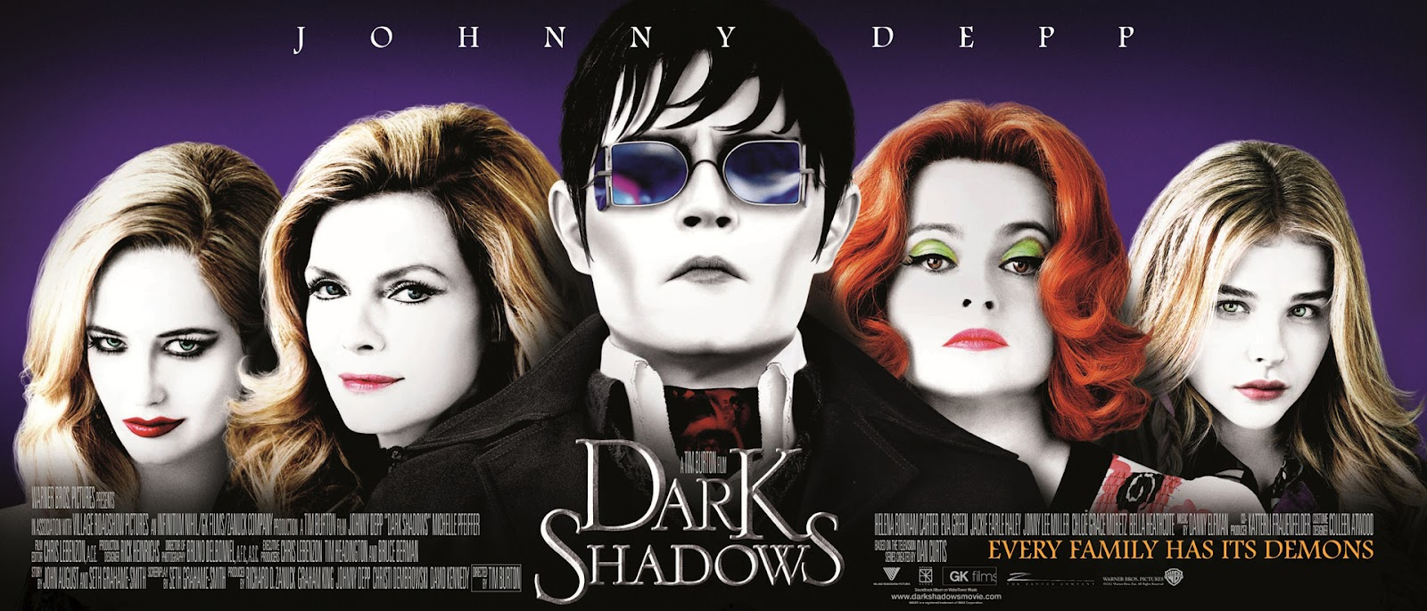 New Shadows Movie Banner Showcases Barnabas Women
