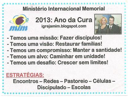 MIM - Uma Igreja de Família no Modelo Celular