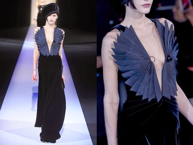 Giorgio Armani RTW 2013 AW Evening Gown