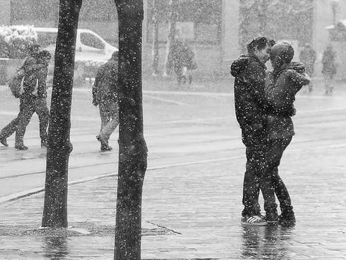 couple hugging in rain quotes