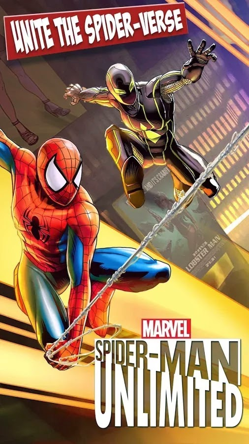 Spider-Man Unlimited Android Game APK + Data Download