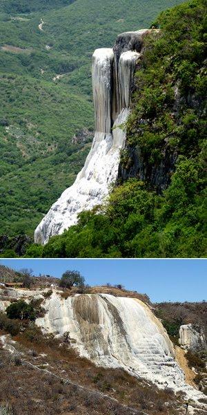 Vajarska dela prirode Zamrznuti-vodopad