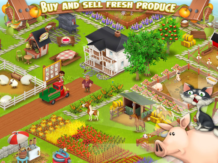 Hay Day Free App Game By Supercell