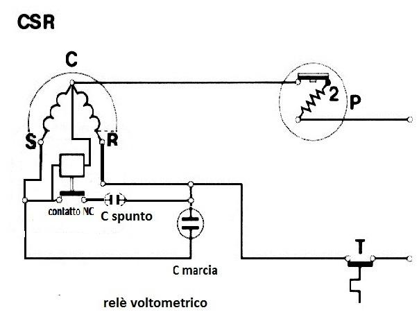 Ranco K59 Schema Elettrico Termostato Frigorifero : Schema elettrico frigorifero montare motore