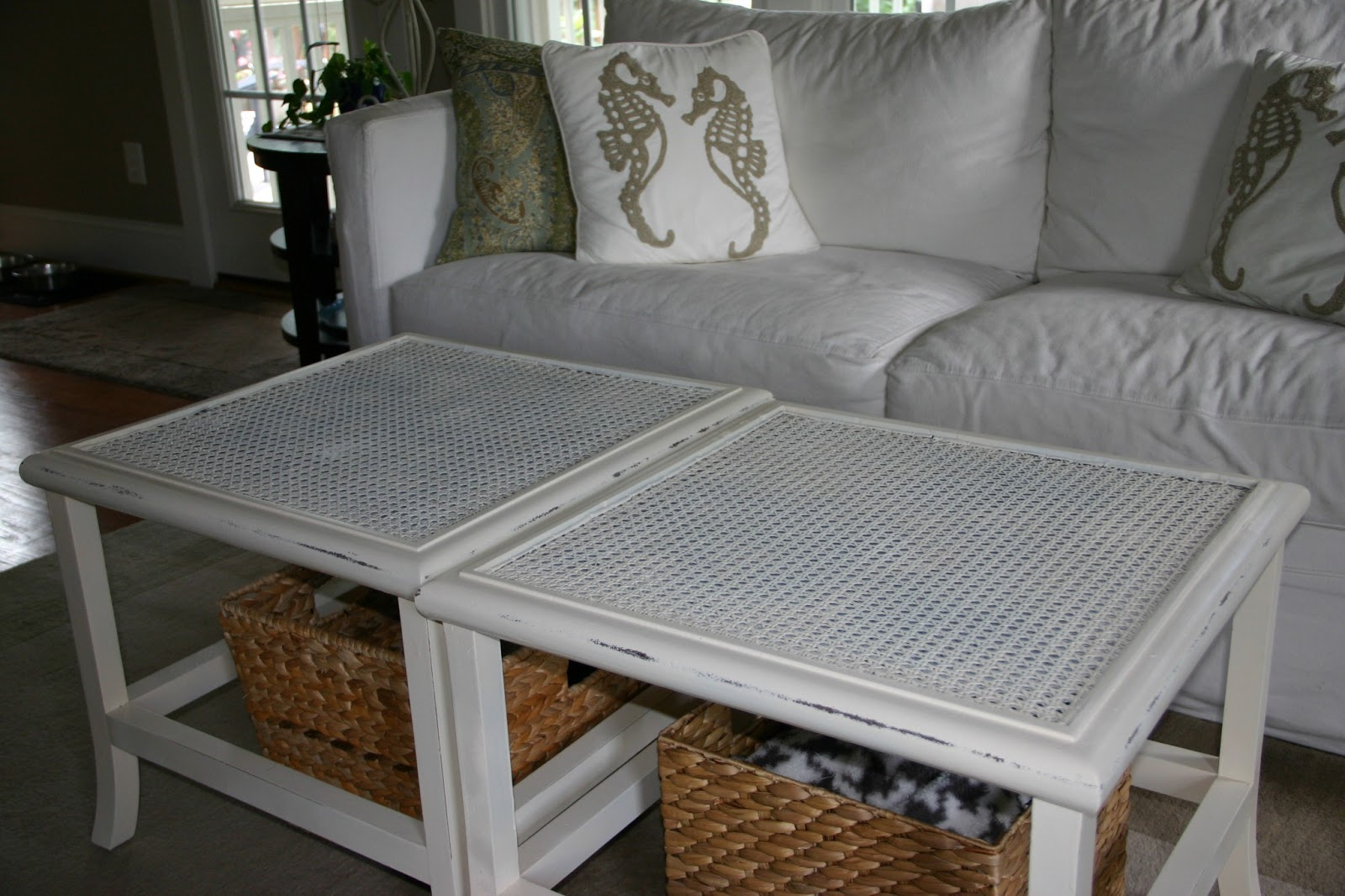 cottage blue designs: goodwill coffee table project