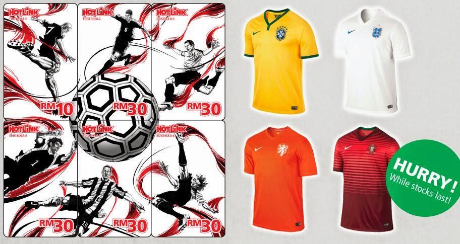 Jersey Piala Dunia Percuma