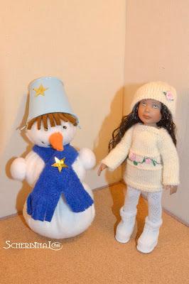 Снеговик, новогодняя игрушка