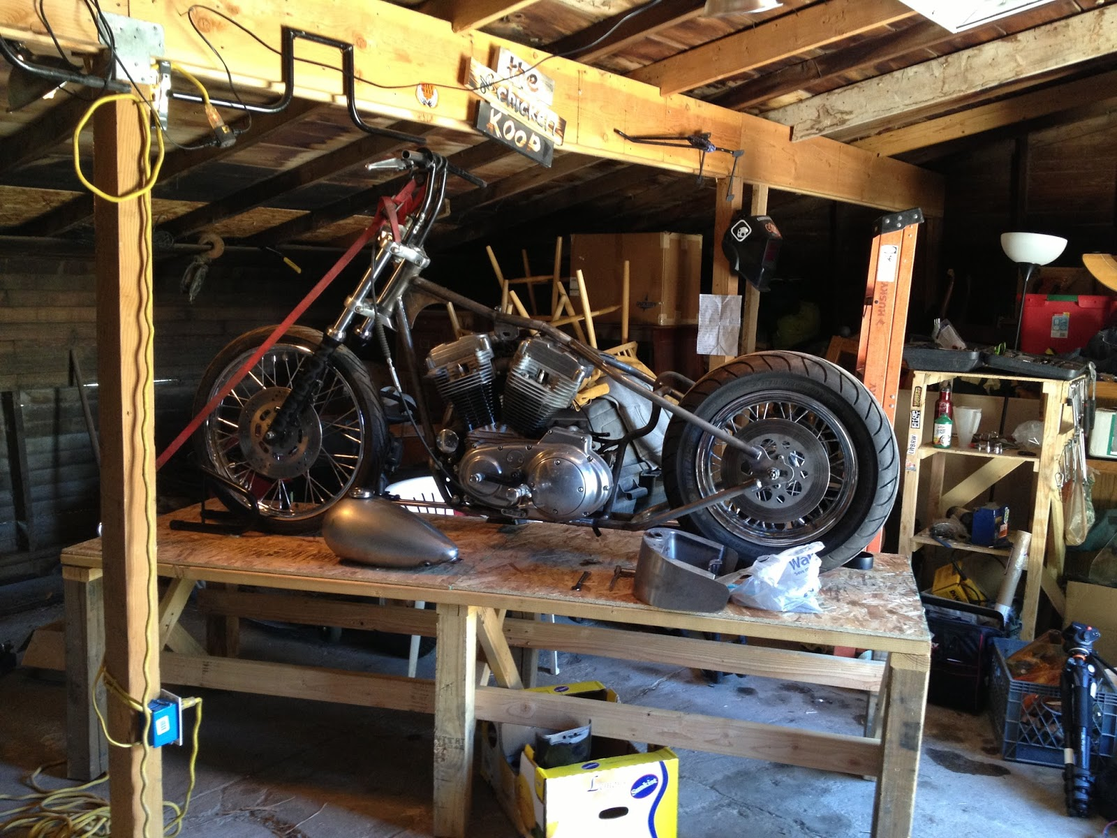 Children Of The Grave Jim 39 S Evo Sportster Chopper Build