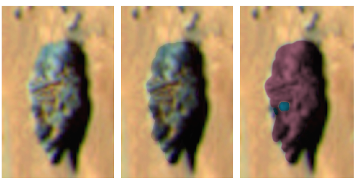 Ancient Statue Face Found On Mars By Rover, Nov 2014, UFO Sighting News.
