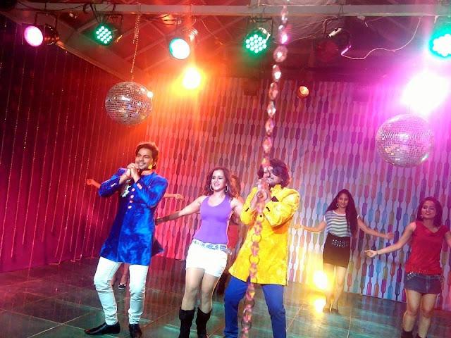 Gunjan pant Shoot Special Songs For Suhaag Film