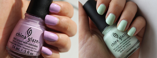 china glaze refresh mint sweet hook swatch